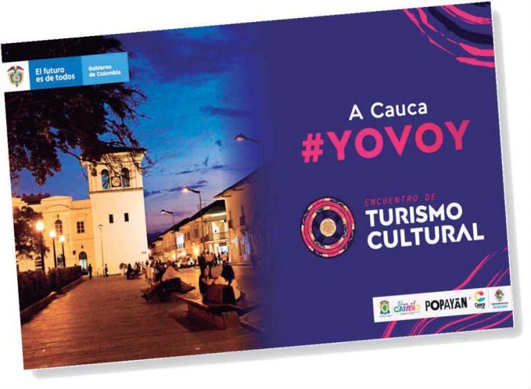 Encuentro Nacional de Turismo Cultural se realizó en Popayán