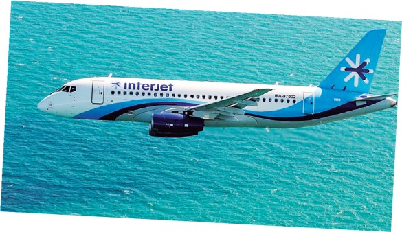 Interjet conecta Cartagena con Ciudad de México