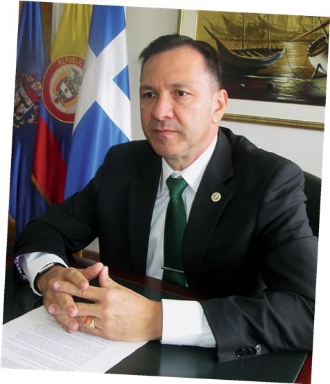 Contralmirante Jorge Iván Gómez Bejarano gerente del hotel Tequendama
