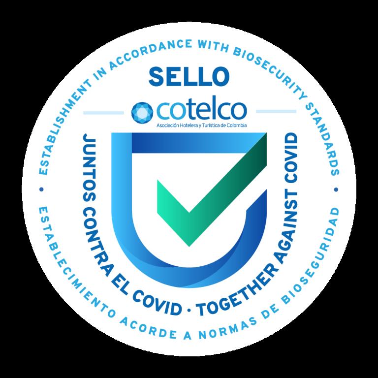 """Cotelco presenta su sello Cotelco """"Juntos contra el covid"""""""