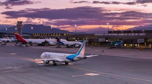 Reactivación del transporte aéreo de pasajeros en Quito se destaca en la región
