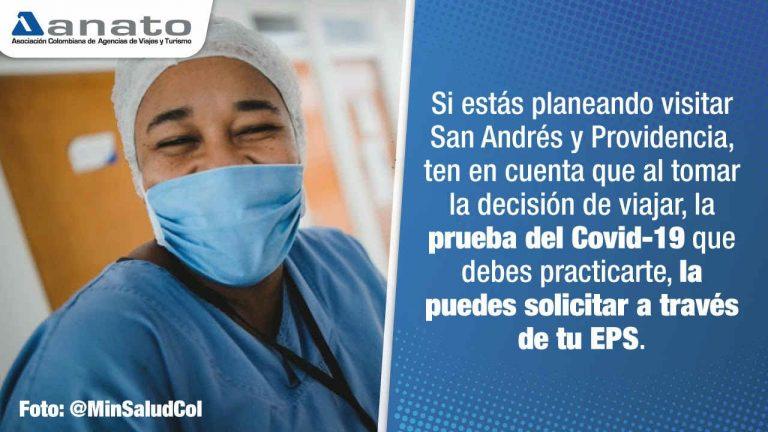 ANATO celebra noticia del Gobierno Nacional sobre entrega gratuita de pruebas Covid-19 a viajeros hacia San Andrés