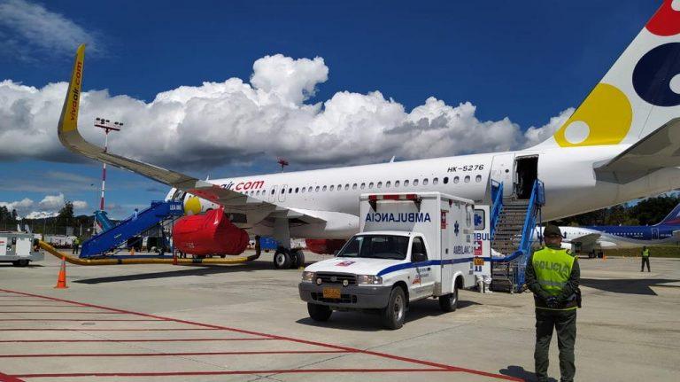 Aeropuerto Internacional El Dorado, Viva Air y aliados realizan simulacro de pasajero con síntomas de COVID-19