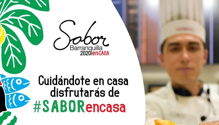 Apertura oficial de Sabor Barranquilla EnCasa con palabras de Mincultura