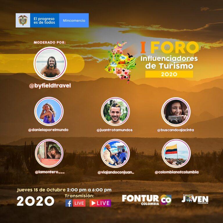 Fontur realiza el Primer Foro de Influenciadores de Turismo en Colombia