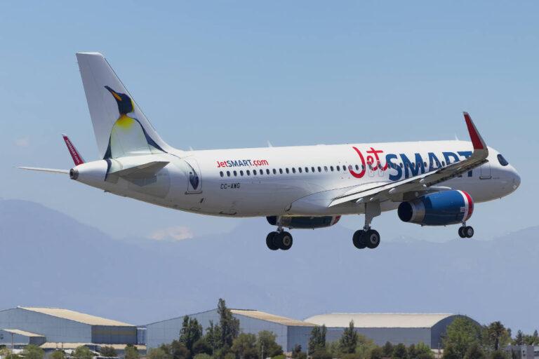JetSMART lanza rutas directas que unen a Bogotá y Cali con Antofagasta en Chile