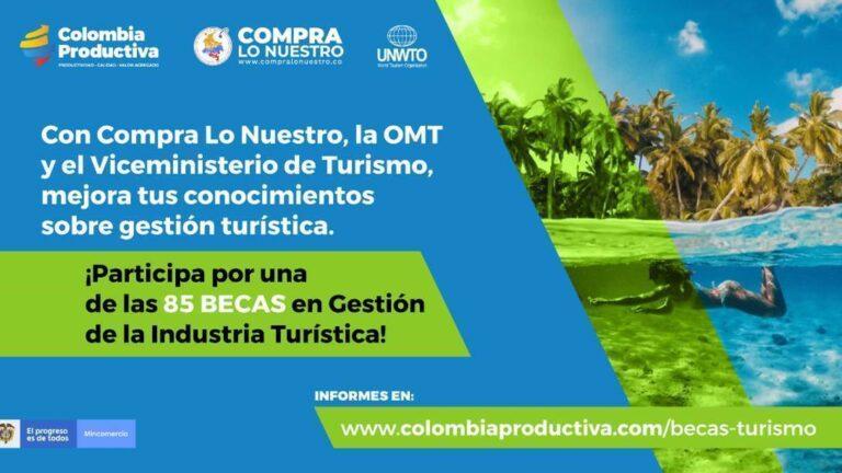 85 becas para obtener certificado en gestión de la industria turística