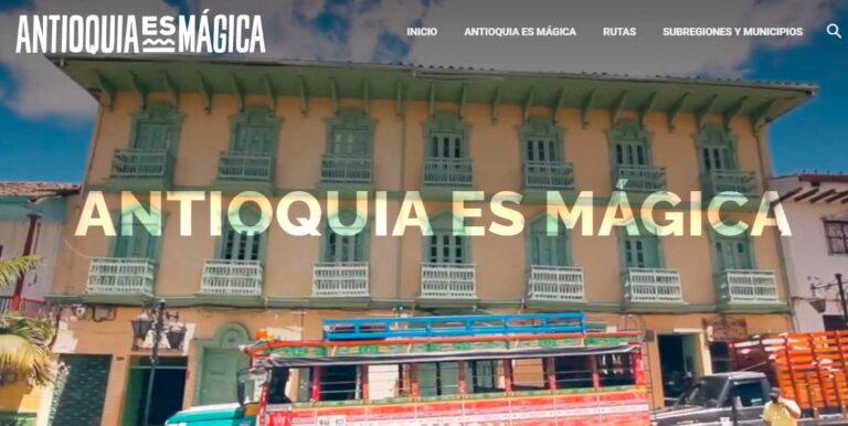 Antioquia tiene portal oficial de promoción turística