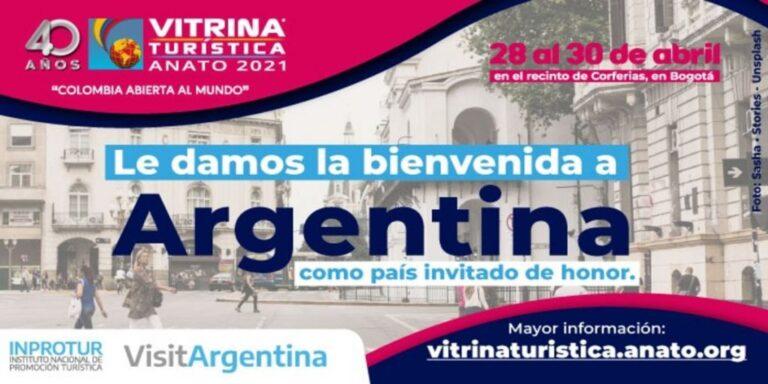 Argentina, país invitado en versión 40 de la Vitrina Turística de Anato