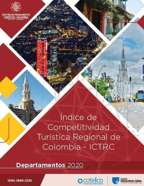 El Centro de Pensamiento Turístico, Cptur presentó el Índice de Competitividad Turística 2020