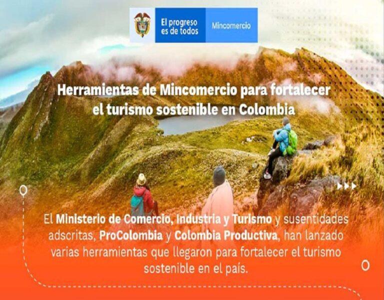 Herramientas de MinCIT para fortalecer el turismo sostenible