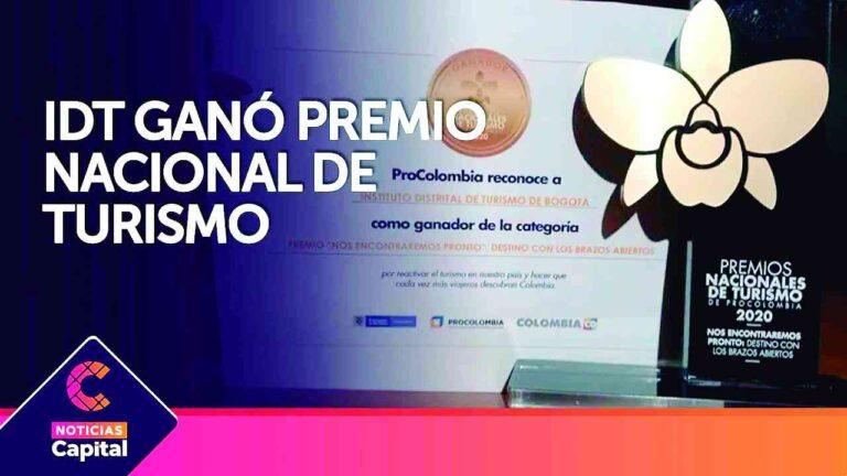 Bogotá ganó en los Premios Nacionales de Turismo