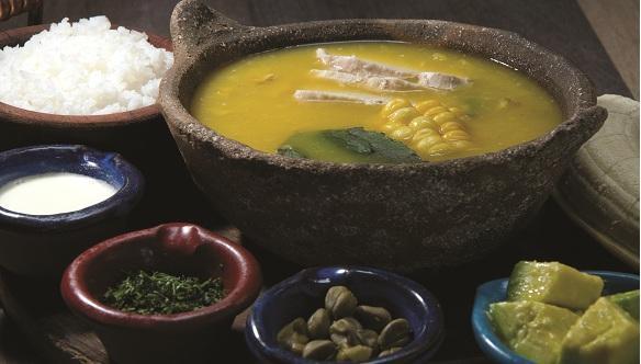 Algunas zonas gastronómicas de Bogotá. Breve reseña