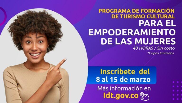 IDT capacita a mujeres en turismo cultural
