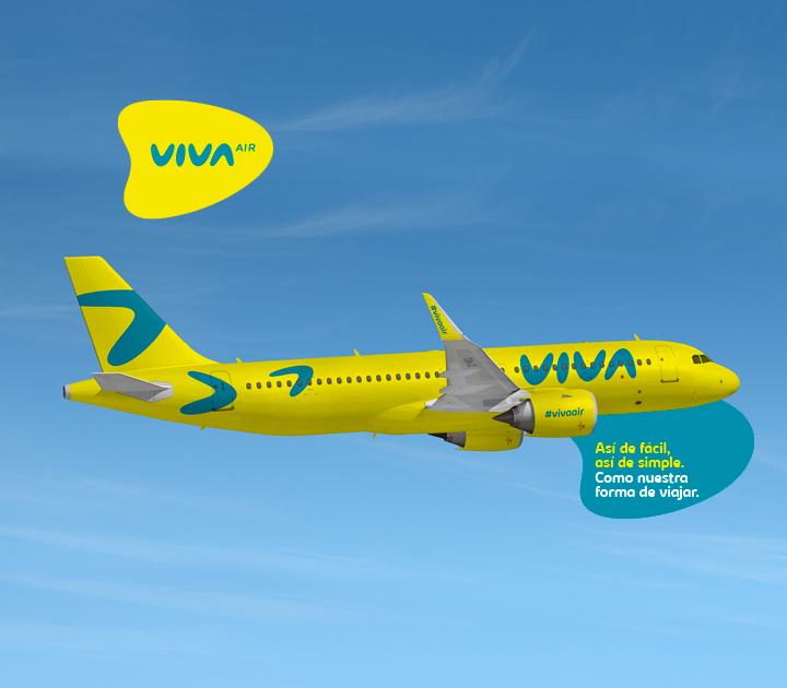 Viva Air renovó su imagen y ahora es Viva