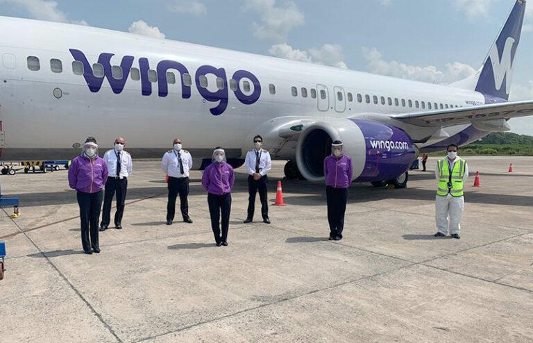 Wingo incrementa sus rutas al exterior