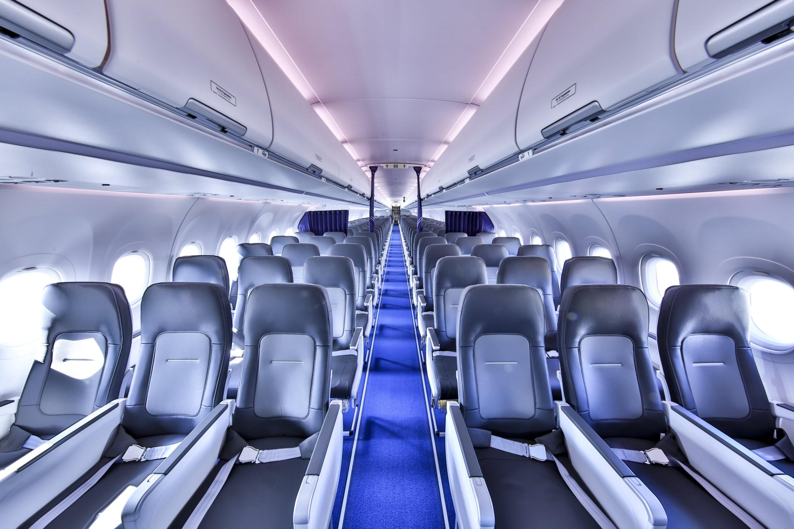 La nueva cabina Airspace de pasillo único de Airbus entra en servicio con Lufthansa Group